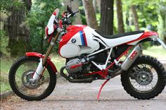 bmw hp2 dakar rally-custom #custom #tracker #motard
