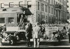 President Franklin D. Roosevelt in Roanoke on October 19, 1934:  History Museum of Western Virginia