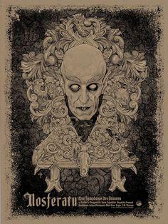Nosferatu Poster by Timothy Pittides (Onsale Info)