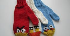 My grandsons are just crazy about those Angry Birds. They needed new mittens and the idea of these came to me as I was falling asleep one n...