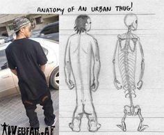 anatomy of an urban thug :)
