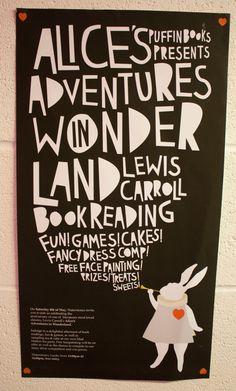 Alice's Adventures in Wonderland Design by Lucy Hawkins, via Behance