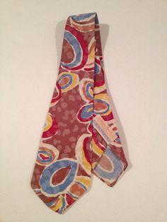 Palm Beach Beau Brummell Men's Tie Vintage Multi Color Pattern Unique RARE   eBay