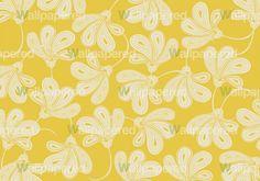 Yellow Floral Wallpaper Diy Sos