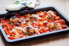 Make dinner in a snap with this Ratatouille Sheet Pan Chicken. Prep is super quick. You will have time to kick back & relax while this one sheet amazing treat is baking. Healthy Baking, Healthy Recipes, Stuffed Whole Chicken, Ratatouille, Cherry Tomatoes, Sheet Pan, Have Time, Chicken Recipes, Nutrition