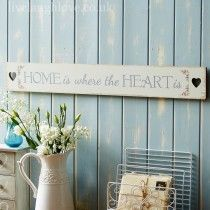 shabby chic wall signs
