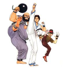 Game Character, Character Concept, Character Design, Concept Art, Art Of Fighting, Fighting Games, King Of Fighters 95, New Challenger, Marvel Vs