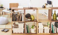Wood combination cabinet スタッキングシェルフ   無印良品の収納   生活雑貨特集   無印良品ネットストア