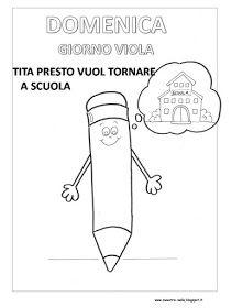 maestra Nella: La settimana di Tita, la matita