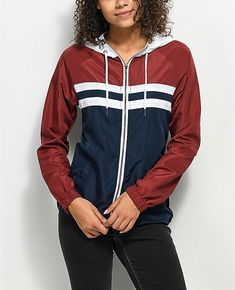 - Red New adidas NEO Women/'s Light Windbreaker Jacket S Small