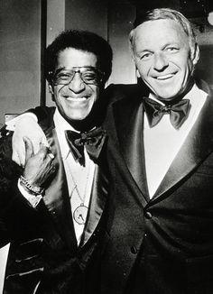 Frank Sinatra and Sammy Davis Jr., 1973