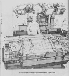 Syd Mead is most famous for his designs for science fiction films, including Blade Runner, Aliens and Tron. Sci Fi Environment, Environment Design, Blade Runner, Cyberpunk, Soldado Universal, Bg Design, Design Elements, Design Visual, Graph Design
