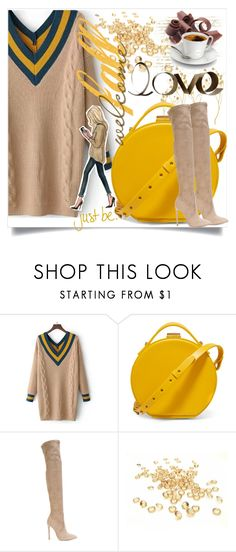 """""""Welcome fall"""" by lou-lou-di ❤ liked on Polyvore featuring WithChic, Nico Giani, Gianni Renzi and PBteen"""
