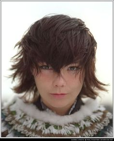 Björk, can we make danny do this to my hair?