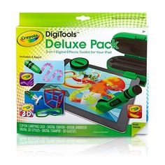 "Crayola Digitools Deluxe Pack 3-in-1 Digital Effects Toolkit for Your iPad - Crayola - Toys ""R"" Us"