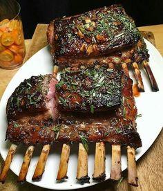 Beautiful rack of lamb. . . Shout out to @jeaniuseats. . . . #Lamb #Lambchops #LambRack #GrilledLamb #BBQLamb #NZLamb #bbq #bbqporn #bbqgrill #bbqtime #foodinsta #foodpicture #foodbeast #foodgasm #foodpornshare #foodaholic #foodgawker #forkyeah #eater #carnivore #instafood #instafoodie #instafoodporn #eats #Noms #NomNom #Grill #GrillLife #Barbeque #BBQLife