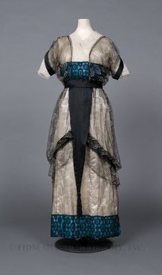 """Tunic dress, c. 1912, by Paul Poiret"""