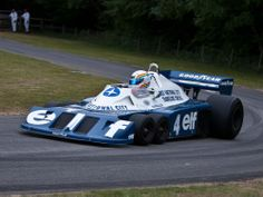 These Are the Most Beautiful F1 Cars Ever | The Tyrrell P34, which elicited shocked gasps from the audience when it was unveiled in 1976.  Smudge 9000/Flickr  | WIRED.com
