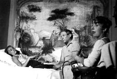 Nusch Éluard, Picasso and unknown woman (possibly the owner of the house) 1936 Mougins France