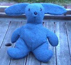 Blue bunny Stuffies