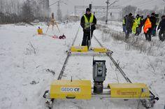 Surveying with Trimble S6 in Ukraine Snow