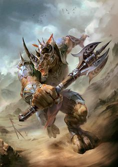 Warrior Rhino