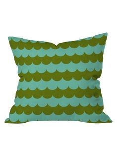 Holli Zollinger Waves Of Color Throw Pillow by DENY Designs at Gilt