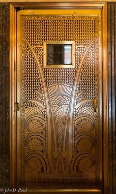 Open Doors Milwaukee #1 Art Deco Door at Ambassador Hotel