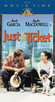 Just the Ticket [VHS] VHS ~ Andy Garcia, http://www.amazon.com/dp/6305388091/ref=cm_sw_r_pi_dp_MQ8Xqb12C118E