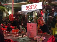 Dexter after party. My kind of party