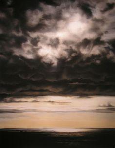 """Saatchi Art Artist: Zaria Forman; """"Portugal"""""""