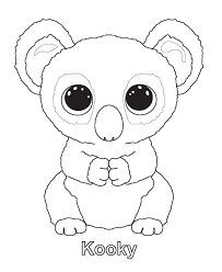 beanie boo coloring pages - Google Search