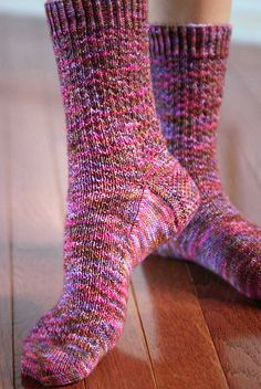 Ravelry: Hermione's Everyday Socks pattern by Erica Lueder