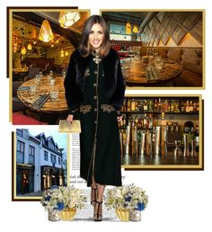 """Kol Restaurant, Reykjavik ● Iceland"" by annynavarro ❤ liked on Polyvore featuring Haze, Philipp Plein and Nancy Gonzalez"