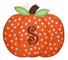 Items similar to Pumpkin Applique Shirt and Matching Ruffle Pants on Etsy Embroidery Shop, Machine Embroidery, Strawberry Art, Machine Applique Designs, Pumpkin Applique, Fall Patterns, Cute Pumpkin, Monogram Initials, Fall Pumpkins