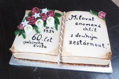 dort - kniha k výročí svatby, diamantová svatba / cake - a book for a wedding anniversary, diamond wedding