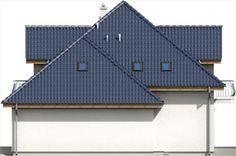Elewacja ARD Kasztan 2 paliwo stałe CE Design Case, Dom, Solar Panels, My House, Floor Plans, Outdoor Structures, Flooring, Outdoor Decor, Home Decor