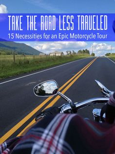 15 Road Trip Necessities for Your Next Motorcycle Tour | #eBayGuides #ad