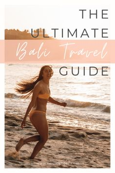 Our ultimate Bali travel guide, 2 week itinerary, for first timers with all the best things to do, see and eat in Uluwatu, Ubud and Canggu! Bali Travel Guide, Packing List For Travel, Travel Guides, Travel And Tourism, Asia Travel, Japan Travel, Best Hikes, Wanderlust Travel, Weekend Getaways