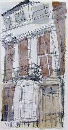 Newtown Terrace, Edinburgh by Lucy Jones http://lleuci.tumblr.com/