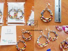 Orecchini-cerchi-perline-multicolore-fatti-a-mano-bead-earrings-handmadebygio https://www.facebook.com/handmadebygia