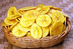 Chips de banana da terra (frita)                                                                                                                                                     Mais