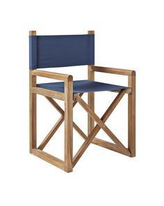 Director's ChairDirector's Chair - love these paired with larger cushioned chairs