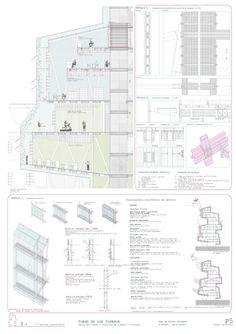 Cultural Center in Embajadores, Madrid | Sara de Miguel | Archinect
