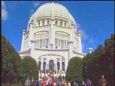 Seven Wonders of Illinois: Baha'i House of Worship Purple METRA LINE to Linden
