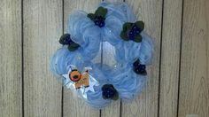 Alpha Delta Pi Sorority wreath by LoyalDecor on Etsy $50.00