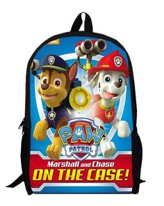 15inch tayo Backpack double layer custom made primary bag women bags little bus anime puppy cartoon
