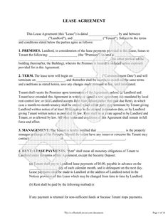 Apartment Sublease Agreement Template  Invitation Templates