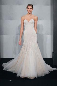 Kleinfeld Exclusives Wedding Dresses MARK ZUNINO Sweetheart Mermaid Gown in Silk Chiffon