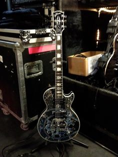 Chad Kroeger's guitar